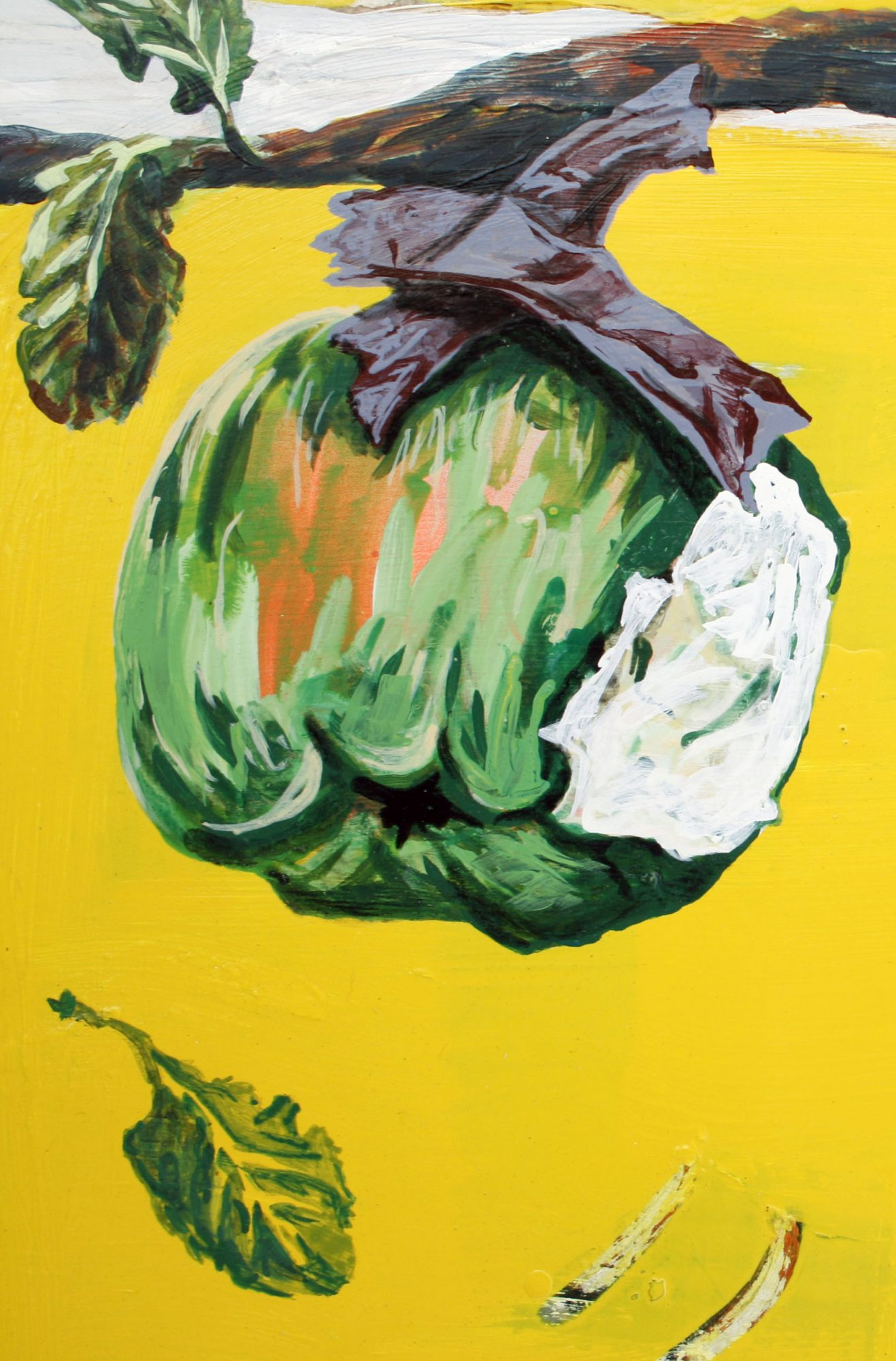Katie Blundell Artist painting